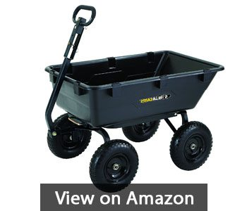 best-garden-cart-Gorilla Carts GOR6PS Heavy