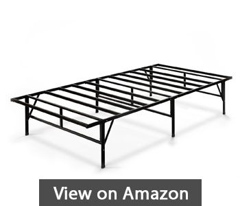 best metal bed frames - Zinus 14 Inch Easy To Assemble SmartBase Mattress Foundation