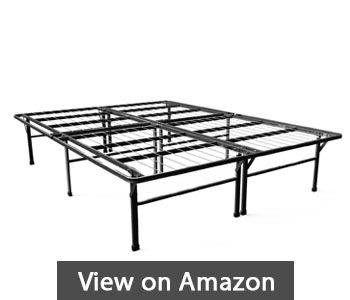 best metal bed frames - Zinus 16 Inch SmartBase Deluxe Mattress Foundation