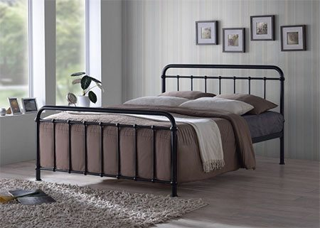 best metal bed frames featured