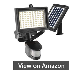 Best solar flood light reviews feb 2018 ultimate buyer guides robust solar 80 led outdoor solar motion light digitally adjustable time lux 2 axis adjustable motion sensor with lithium battery aloadofball Image collections
