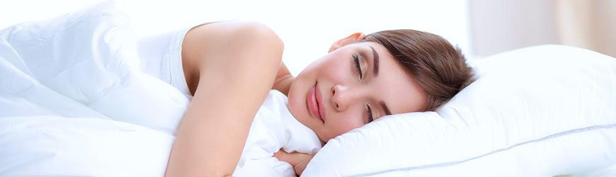 sleep better with a memory foam pillow