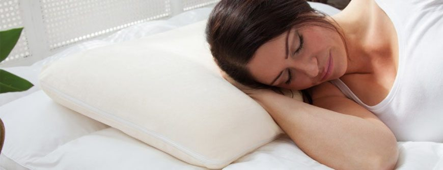 sleep better with traditional memory foam pillow