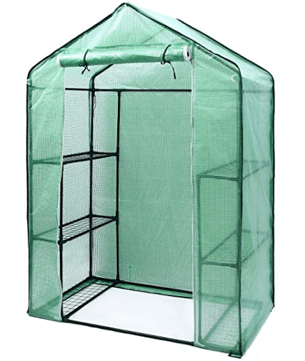 greenhouse kits - Ohuhu walk-in greenhouse