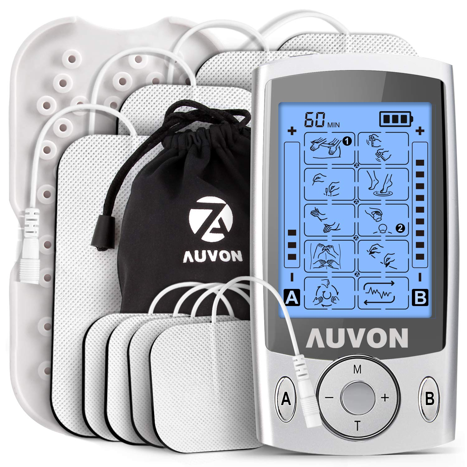 AUVON Dual Channel TENS